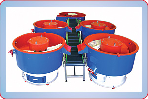 MULTIPLE VIBRATORY FINISHERS