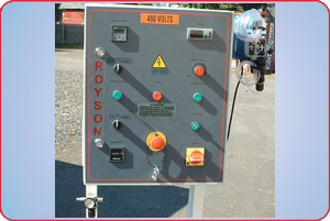 CONTROL CONSOLE AND DOSING PUMP