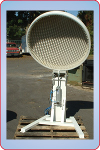 AIR OPERATED ACOUSTIC LID