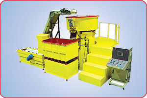 VIBRATORY SYSTEM WITH SPECIAL WORK PLATFORM
