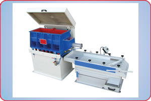VIBRATORY FINISHER WITH AIR