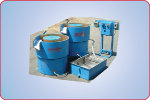 ONE VIBRATORY FINISHER WITH